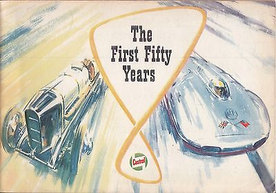 CASTROL ACHIEVEMENTS The First 50 Years 1959 ~ Car Motorcycle Race Rally Air Sea