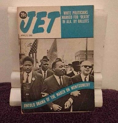 JET ~April 8 1965 UNTOLD DRAMA OF THE MARCH ON MONTGOMERY Vol. 27 No. 26