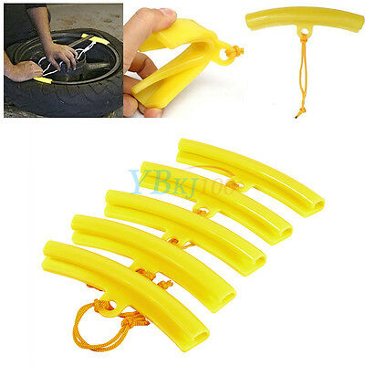 5x Moto Tire Changer Guard Rim Protector Tyre Wheel Changing Edge Savers Tool AF