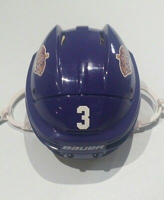 LA Kings Bauer 4500 Purple Helmet S/M