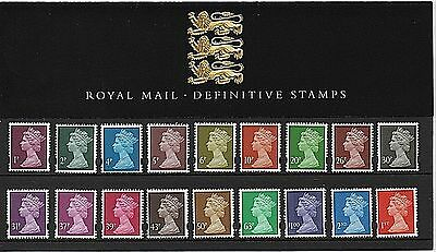 GB Stamps 20-10-1998 Machin Definitive Presentation Pack #41