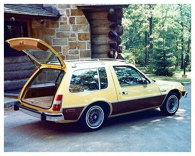 1977 AMC Pacer DL Station Wagon Factory Photo ub0825