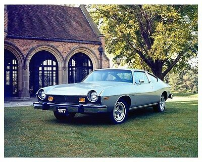1977 AMC Matador Coupe Factory Photo ub0823
