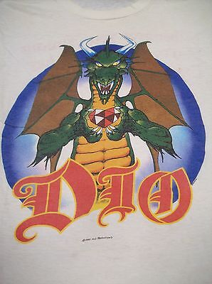 """Dio """"whenever You Dream"""" Vintage T-Shirt Sleeveless Large 1985 Ronnie James Dio"""