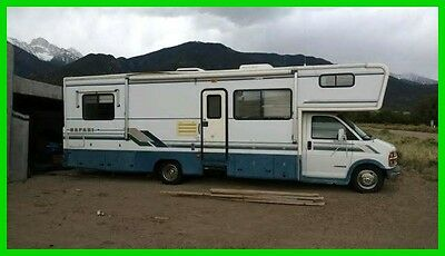 1997 Safari Sahara 38' Class C Generator Cruise Tow Pkg Solar Panels COLORADO