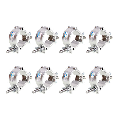 GBGS 8 Pack O-Clamp 2 Inch Lighting Mount for Stage Lighting Moving Head Light P