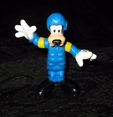 Rare Mattel Disney Goofy Airplane Plane Pilot Action Figure