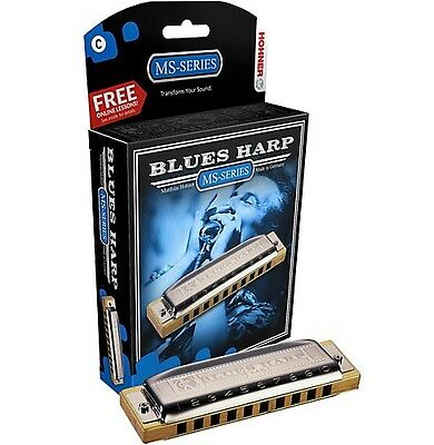 Hohner Blues Harp MS Mundharmonika - Bb