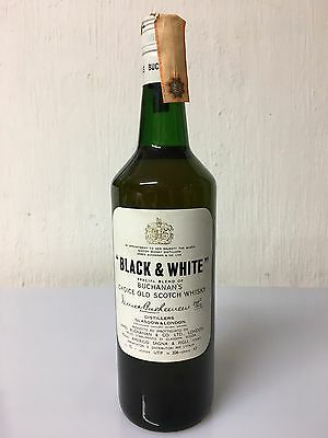 Black & White Special Buchanan's Choice Old Scotch Whisky 75cl 43% Vol Vintage