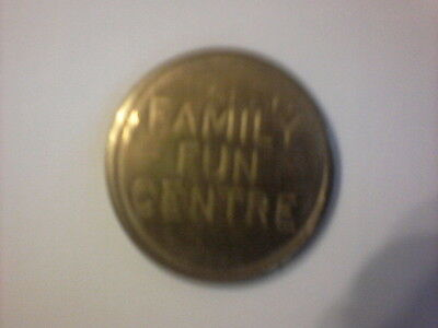 10 70s Fruit Machine Tokens Says Family Fun Centre Very Good Condition Freepost.