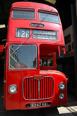 Double Decker Bus  Midland Red Fridge Magnet 90 x 60BUY UP TO 3 Mix No EXTRA P&P