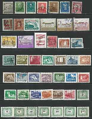 #7385 HUNGARY Lot of Used Stamps Combine Shipping