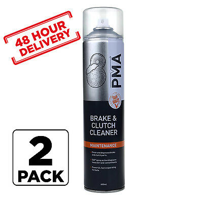 2 x PMA Brake And Clutch Cleaner Aerosol Spray 600ml 48 hour delivery Tracked