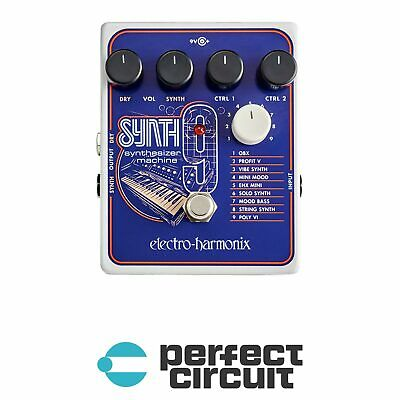 Electro Harmonix SYNTH9 Synthesizer Pedal EFFECTS - NEW - PERFECT CIRCUIT