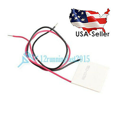 TEC1-12708 12V 8A Heatsink Thermoelectric Cooler Peltiers Plate Module US STOCK