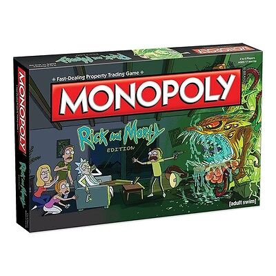 Rick & Morty Monopoly  - BRAND NEW