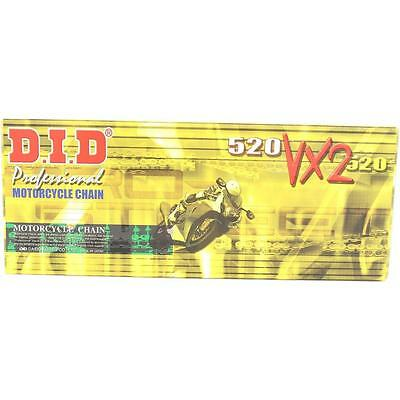 DID 520x122 Links VX2 Pro-Street Series Sealed X-ring Black & Gold Chain