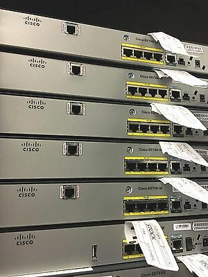 CISCO887VA-M-K9 Cisco 881 Ethernet Security Router  VDSL2/ADSL2+ over POTS Annex