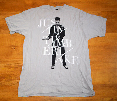 Justin Timberlake '20/20 Experience' world tour 2014 official t shirt