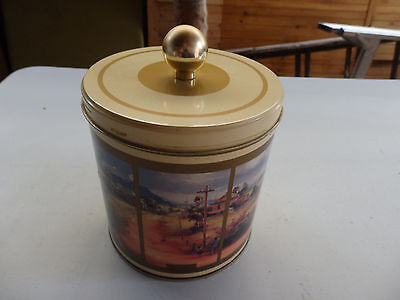 Collectable Round D'arcy Doyle biscuit tin .  Circa 1994.