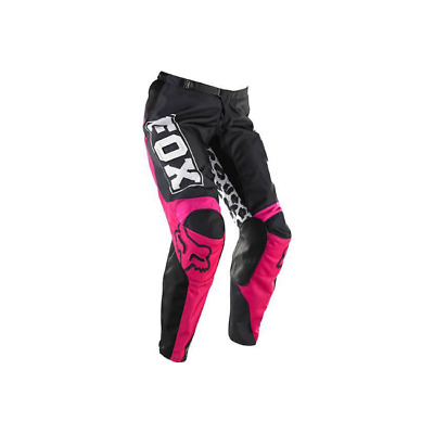 Fox Kids Girls 180 Mx Motocross Pants Black Pink