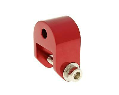 Riser Kit 40mm red - APRILIA SR50 Funmaster since 03 (Piaggio Engine)