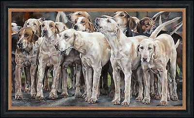 The Call, Framed Limited Edition Block Mounted Print By Debbie Boon Art