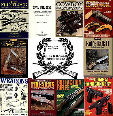 Guns & Knives - history, prices, specs ... complete overview - 12 books in pdf
