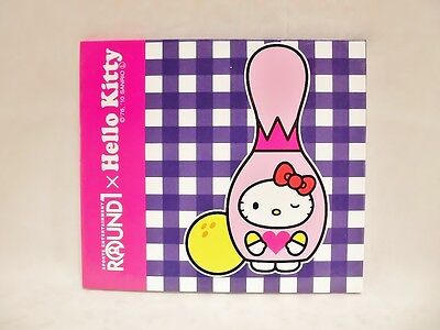 Limited Edition Sanrio Hello Kitty × Round 1 Message Board Japan Bowling Novelty