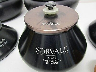 Sorvall SS34 Rotor  8 x50 ml