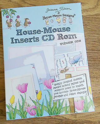 Joanna Sheen House-Mouse Inserts Vol One CD-ROM Brand New Unopened Papercraft