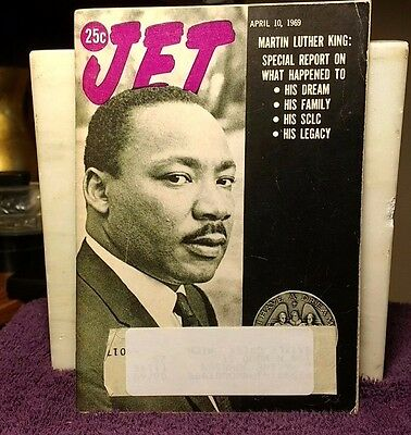 JET ~April 10 1969 MARTIN LUTHER KING: SPECIAL REPORT ON... Vol. 36 No. 1