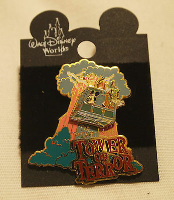 The Twilight Zone Tower of Terror Movable Disney Pin New on Card