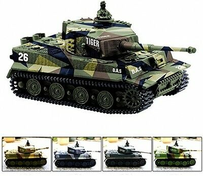 Cheerwing 1:72 German Tiger I Panzer Tank Remote Control Mini RC Tank With And