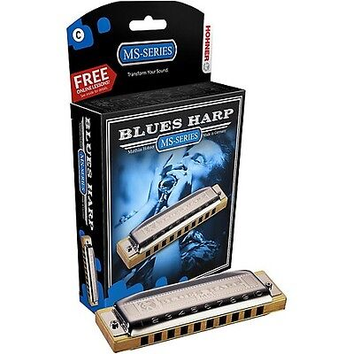 Hohner Blues Harp MS Armónica - D