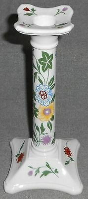 COALPORT Bone China FLOURISH PATTERN Single Candlestick MADE IN ENGLAND