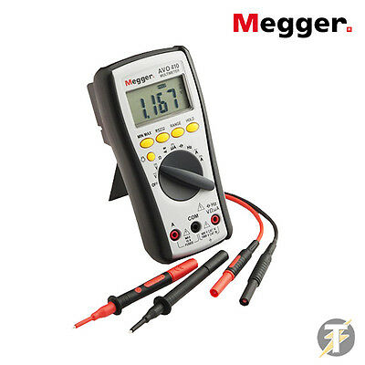 Megger AVO410 Autoranging True RMS Digital Multimeter with Leads and Probes