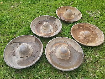 Cast Iron Antique Pig Trough Feeders Mexican Hat Planter