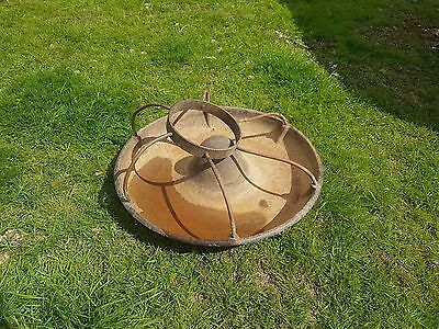 Cast Iron Antique Pig Trough Feeder Mexican Hat Planter