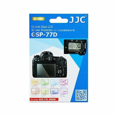 JJC GSP-77D Optical Glass LCD Screen Cover Protector for Canon EOS 77D 9000D