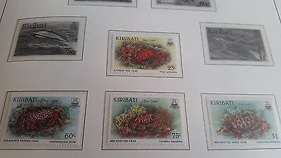 Kiribati 1996 Sg 518-521 Sea Crabs Mnh