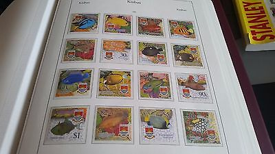 Kiribati 2002 Sg 635-650 Tropical Fish Mnh