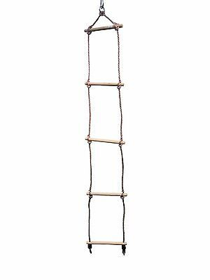 A Frame Rope Ladder for Childrens Kids Outdoor Climbing Frame, Tree House.HIKS®