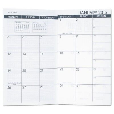 At-A-Glance 2018 Monthly Pocket Planner Refill For 70-064-05 - 7090610