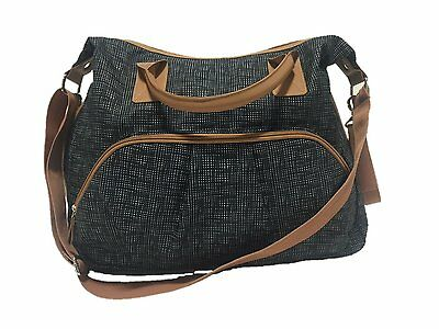 NEW  Summer Infant Changing Bag - Charcoal Tan Tote