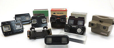 9x Lot Viewmaster 3D, Sawyers, Gaf, Iso, Stereoclic, Bruguiere, Tru Vue ir012