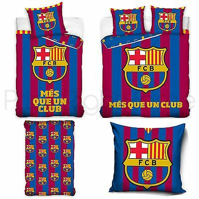 Fc Barcelona Més Que Un Club Duvet Cover Sets - Single & Double, Sheet, Cushion