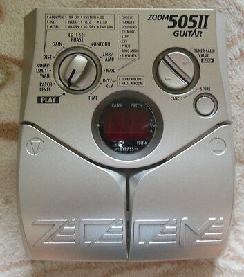 Zoom 505II Multi-Effects Guitar Effect Pedal
