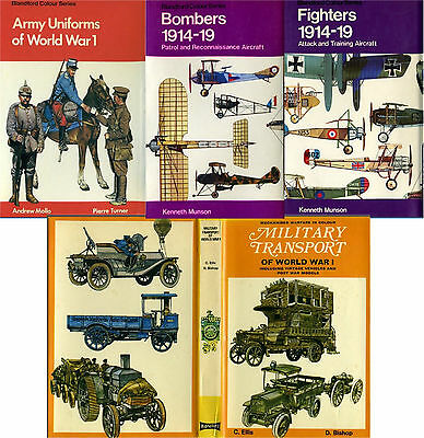 WW1 - uniforms, weapons, insignias. transportation - 7 color books pdf