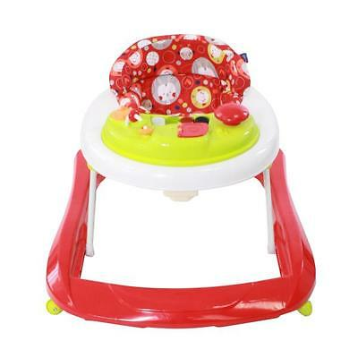 Red Kite Baby Walker Go Round Adjustable Height Jive Electronic Play Tray